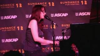 "Ingrid Michaelson- ""Blood Brothers"" (720p HD) Live at Sundance on January 26, 2012"