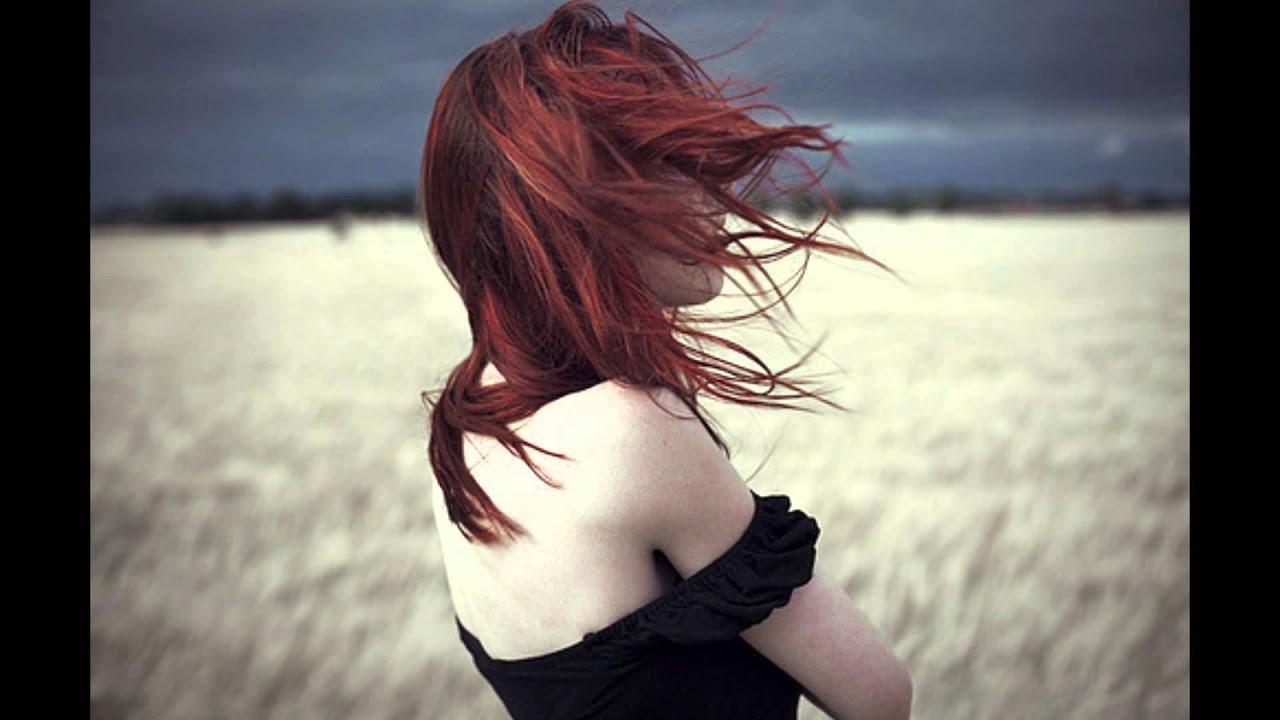 Рыжие волосы со спины фото 1 фотография