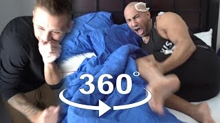 CRAZY 360 WAXING PRANK!!