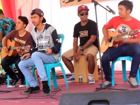 Monster Lollypop - ingatlah hari ini (project pop cover) live @SMA 2 Mataram