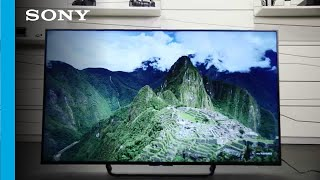 "Unboxing The New 65"" Sony Android TV (4K Ultra HD)"