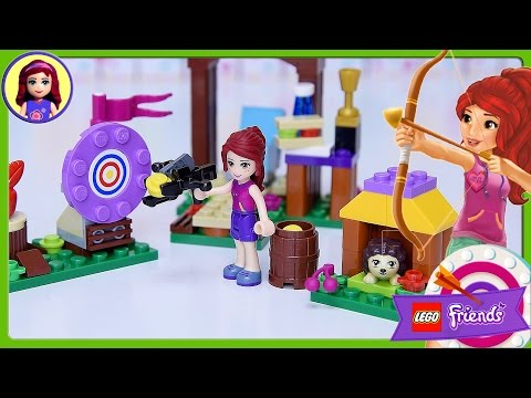 Lego Friends Adventure Camp Archery Set Build Review Silly Play - Kids Toys