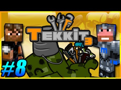 Tekkit Pt.8 |I Like Gold LLC.| House Building