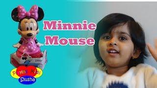 Pretend Play With Talking Minnie Mouse | Disney Toys | Playing Kids Slusha