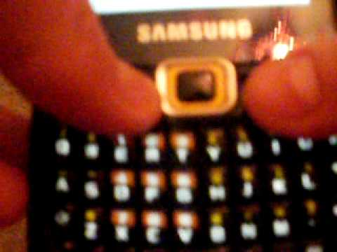 Review On Samsung Qwerty corby Txt video