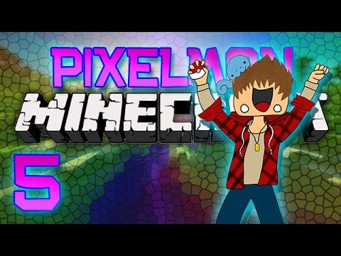 Minecraft: Pixelmon Let's Play w/Mitch! Ep. 5 - WE WERE FOUND!