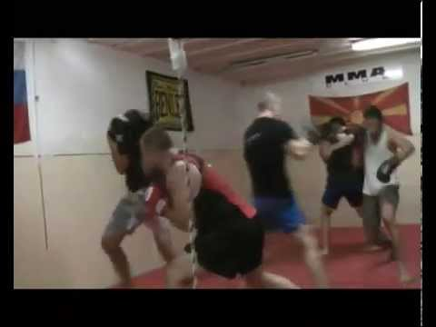 Combat Sambo club MMA training highlight Image 1