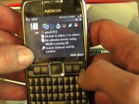 Nokia E71 Full Review, Pt 1
