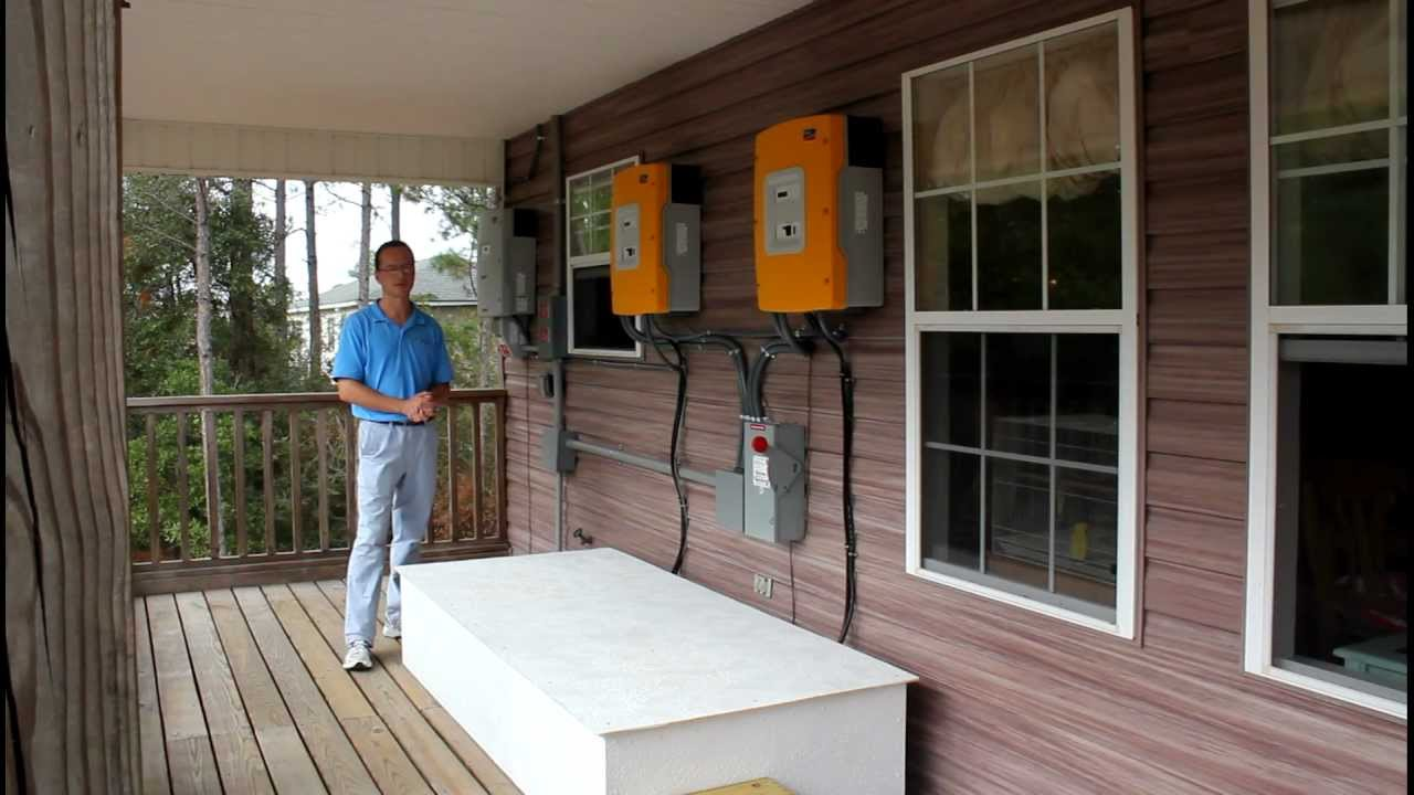 8 46 Kw Solar Photovoltaic Grid Interactive With Battery