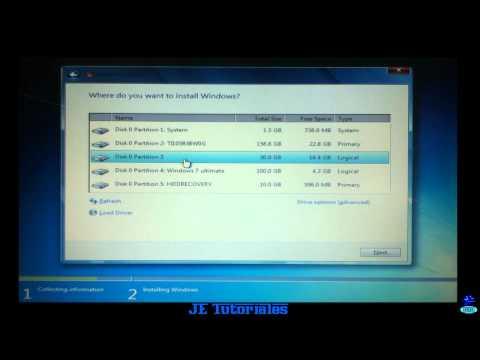 Formatear Cualquier Pc e Instalar Windows 7 desde una memoria USB