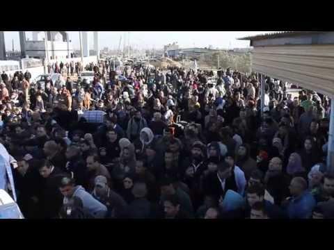 Palestinians in Gaza Rush to Rafah Border Crossing During Three-Day Reopening