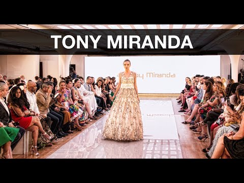 Arab Fashion Week 2018 – Tony Miranda
