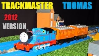 2012 Trackmaster Thomas with Annie and Clarabel, unboxing review and first run.