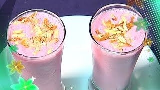 Summer Special Mocktail Strawberry Lassi