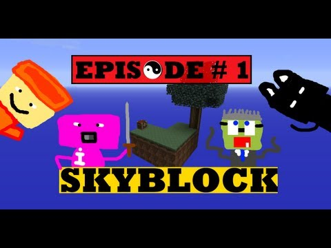 Minecraft - Skyblock Survival Episode #1