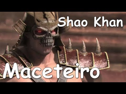 Mortal Kombat - MORTAL KOMBAT 9 MODO HISTRIA PARTE 12 - SHAO KHAN MACETADO