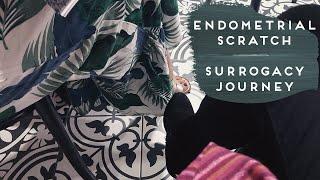 IVF FET PREP + ENDOMETRIAL SCRATCH | Gestational Surrogacy