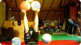 ULTIMATE Basketball Juggling | March Madness #WIN
