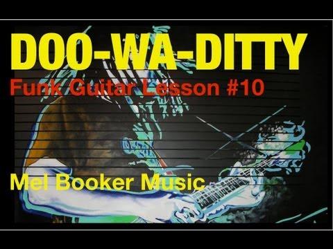 Funk Guitar Lesson #10 Roger Troutman-Zapp Doo Wa Ditty