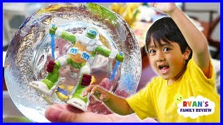 Freezing Our Toys Science Experiments!!!