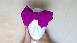 How To Tie a Headband Bow - La Romi