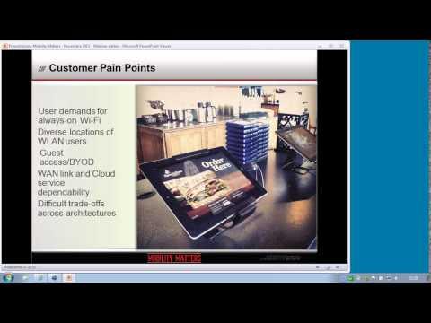 Webinar | Aruba Networks:  Virtual, Fast e Cloud wifi