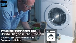 how to replace the cold water valve on a bosch washing machine. Black Bedroom Furniture Sets. Home Design Ideas