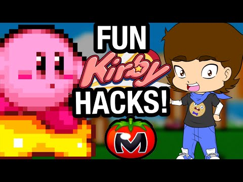 FUN Kirby HACKS and Fan Games! - ConnerTheWaffle