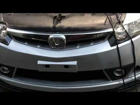 Honda civic 2007 sedan. w/mugen rr full body kit. :D and konig zero-In