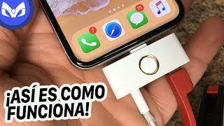 TENGO BOTON HOME FISICO PARA iPhone X Y ES REAL