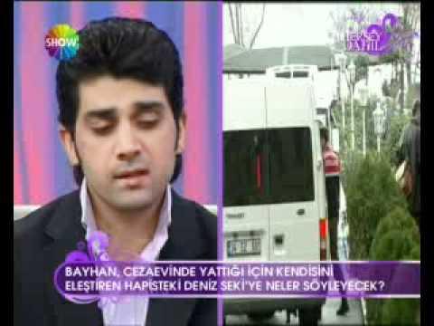 BAYHAN  kendini eleştiren Deniz Seki ye neler söyledi SHOW TV