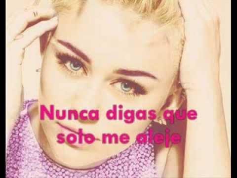 Wrecking Ball- Miley Cyrus [traducida Al Español] video