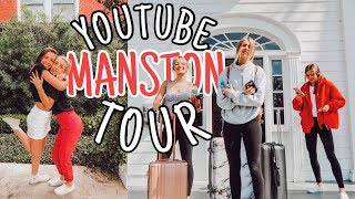 staying in a mansion w/ youtube friends for the weekend!
