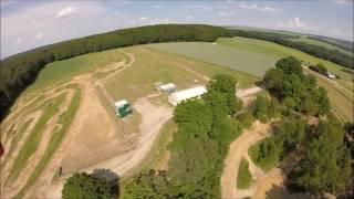 Motocross Strecke Aarbergen Aus Der Luft
