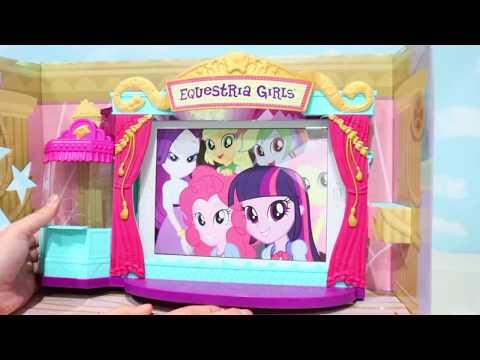 Equestria Girls My Little Pony Brinquedo de Cinema e Bonecas Unboxing e Review -Brinquedonovelinhas