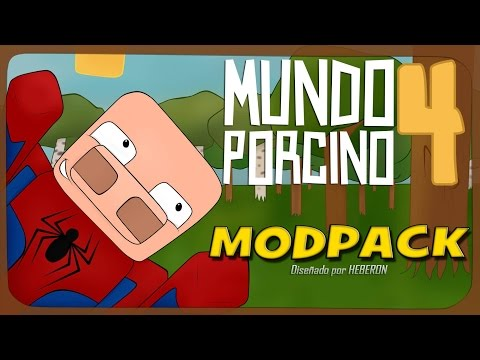 Modpack Mundo Porcino 4 | Serie de Sara | Minecraft 1.6.4 | HEBERON