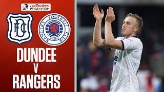 Dundee 1-1 Rangers   Gerrard's Side Held By Ten Men At Dens   Ladbrokes Premiership