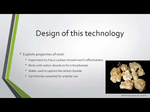 Reducing Carbon Dioxide with Artificial Trees-SGC