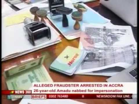 News360 - Alleged fraudster arrested in Accra - 16/6/2015