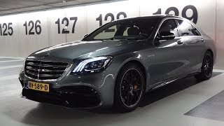 2019 Mercedes AMG S63 BRUTAL 4MATIC + Drive Review S Class Sound Acceleration Exhaust