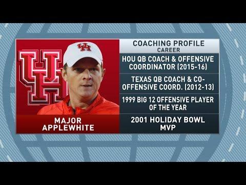 Gottlieb: Major Applewhite talks Houston Cougars