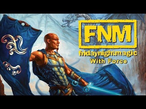 FNM with Force - Simic Gimmick (MTG 2015 Multiplayer)