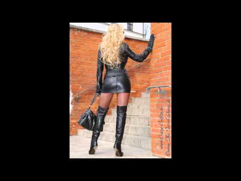 super sexy women wearing leather boots