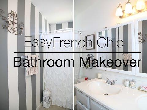 Easy Rental Bathroom Makeover