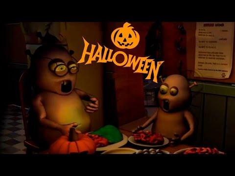 Веселого Хэллоуина!!! )))) Мультфильм про Хэллоуин :) :D :D