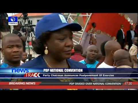 INEC Nat'l Commissioner Speaks On PDP Nat'l Convention Postponement