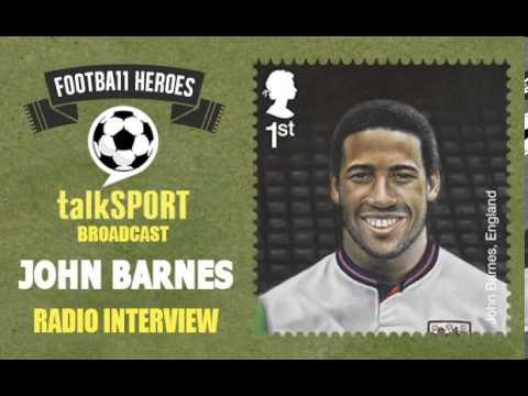 Royal Mail Football Heroes Stamps -- talkSPORT: John Barnes Interview