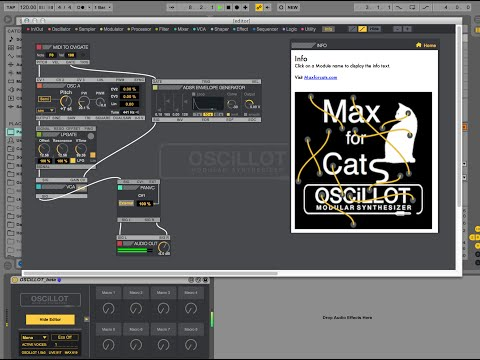 OSCiLLOT Modular System by Max for Cats