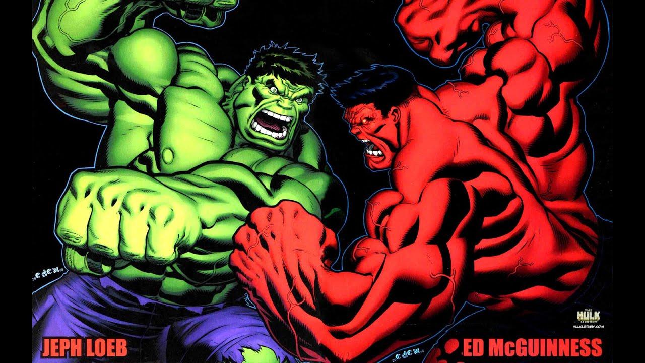 Red Hulk Green Hulk Grey Hulk The Hulk vs Red Hulk vs Grey