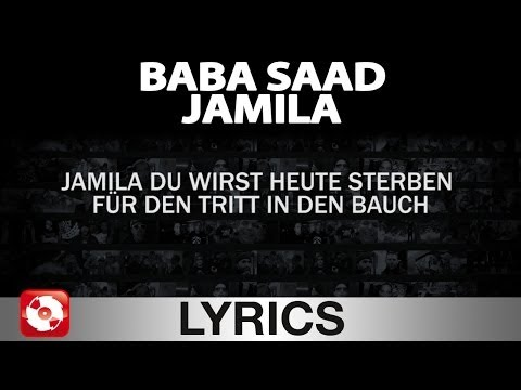 BABA SAAD - JAMILA AGGROTV LYRICS KARAOKE (OFFICIAL HD VERSION...
